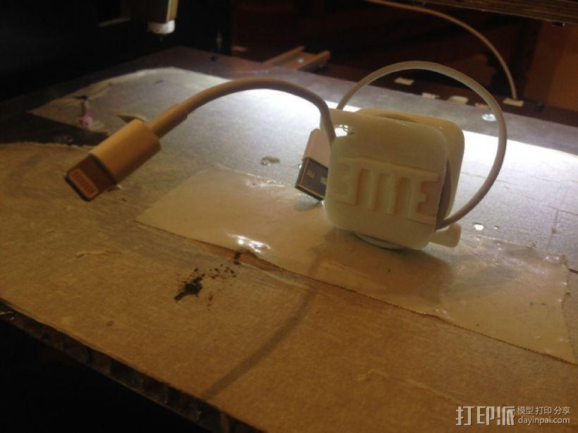 USB收纳器 3D模型  图1
