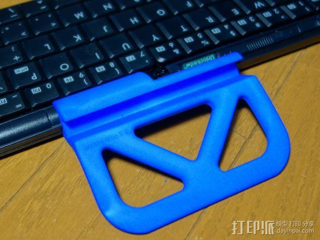 平板电脑支撑架 3D模型  图5