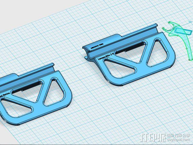 平板电脑支撑架 3D模型  图8