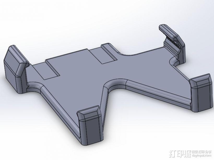 车载式手机座 3D模型  图1