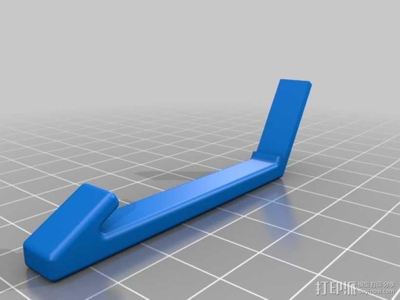 车载式手机座 3D模型  图3