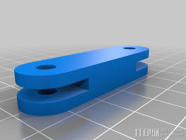 摄像机安装座 3D模型  图2