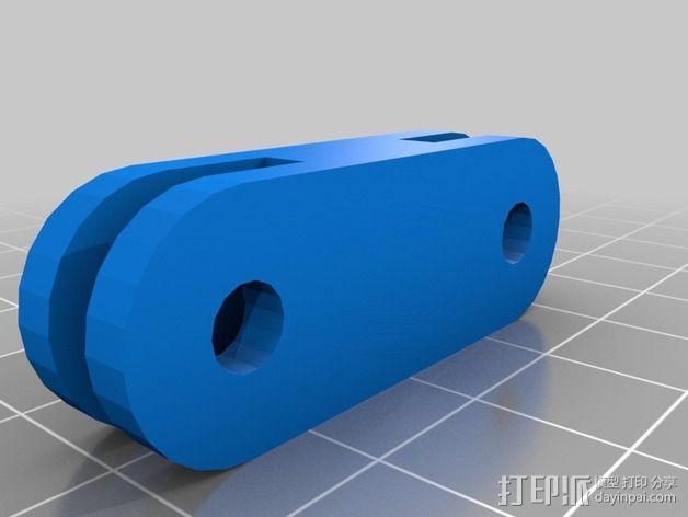 摄像机安装座 3D模型  图4
