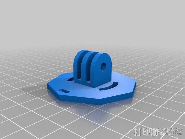 摄像机安装座 3D模型  图5