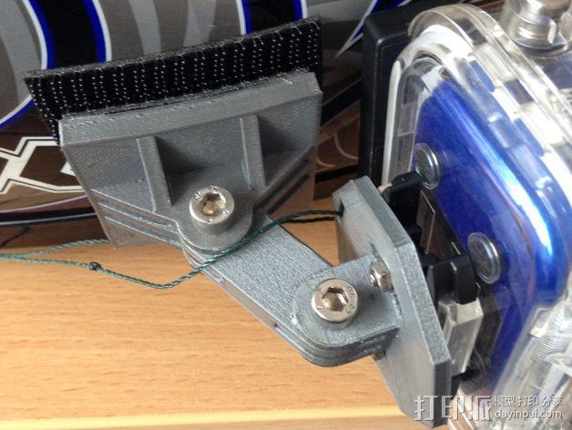 摄像机安装座 3D模型  图6