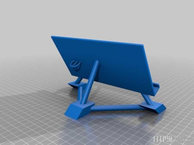 华为Ascend P7手机支架 3D模型  图1
