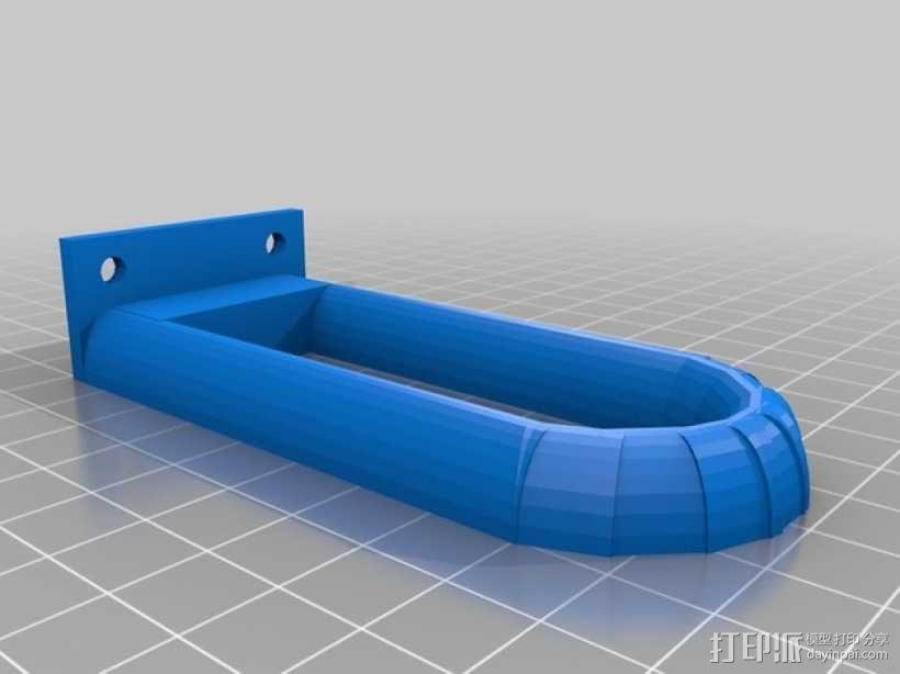 耳机架 3D模型  图1