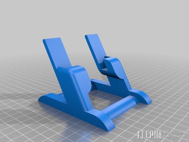 三星S3手机架 3D模型  图2