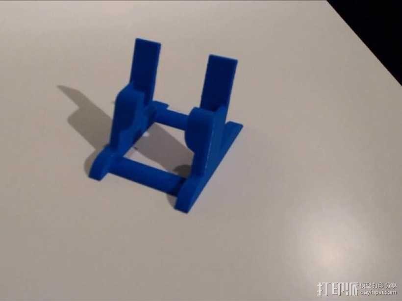 三星S3手机架 3D模型  图1