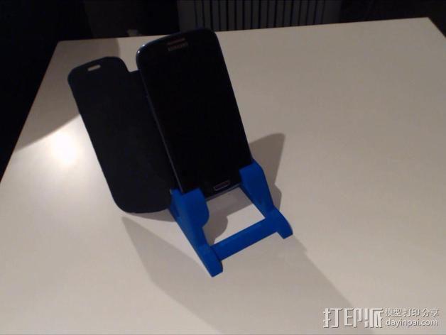 三星S3手机架 3D模型  图3