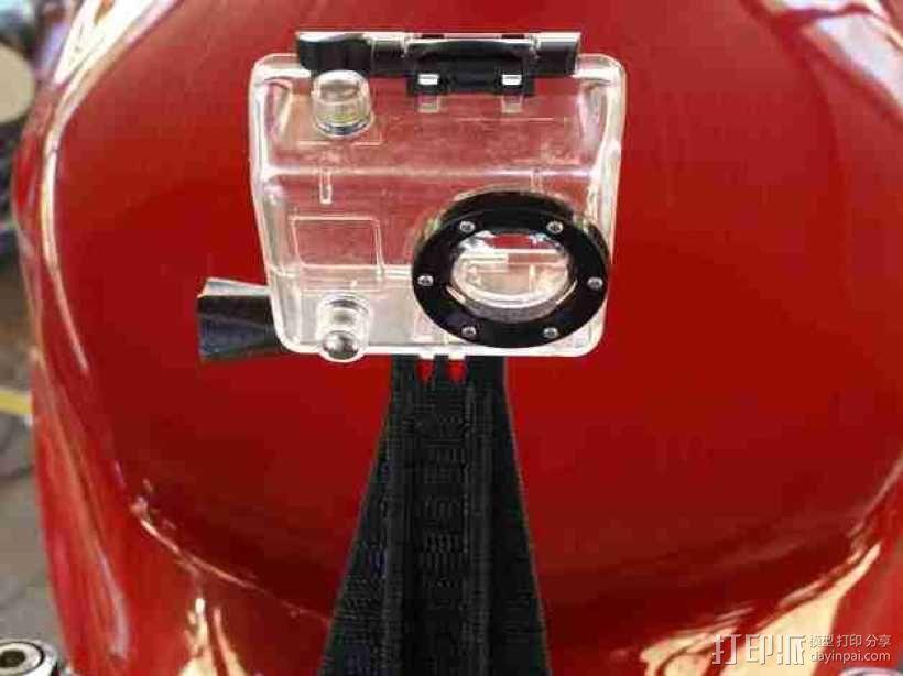 GoPro 相机底座  3D模型  图1