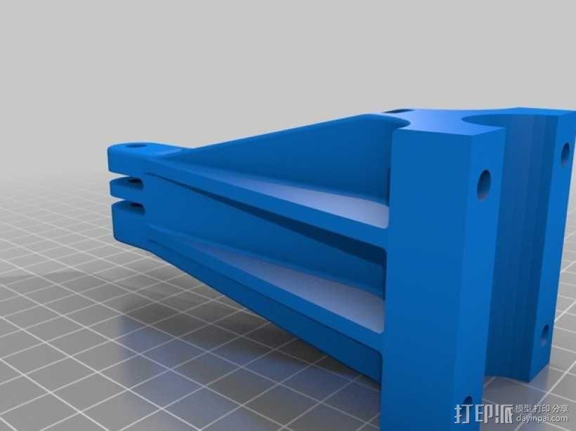 GoPro 相机底座  3D模型  图3