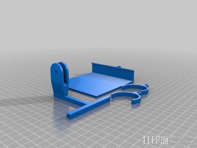 kindle电子阅读器固定器 3D模型  图2