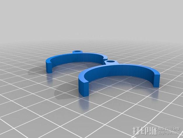 kindle电子阅读器固定器 3D模型  图4