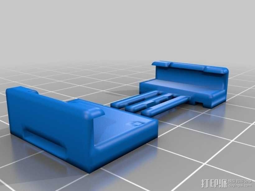 通用式手机支架 3D模型  图2