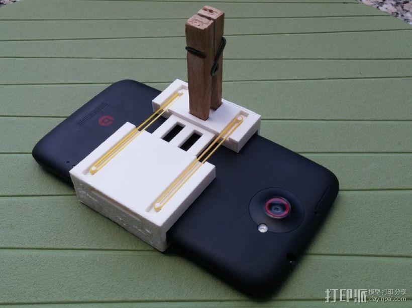 通用式手机支架 3D模型  图5
