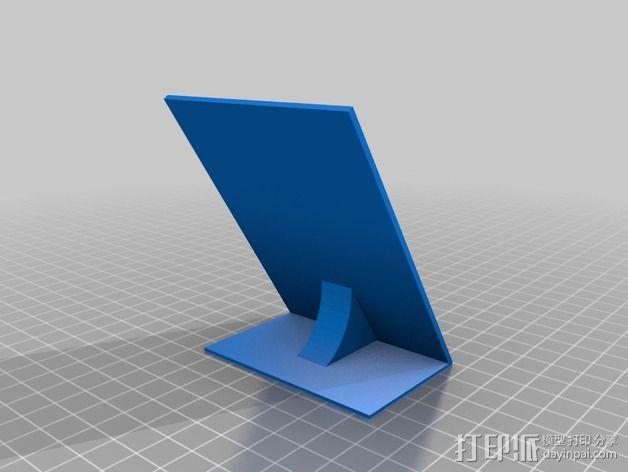 三星Galaxy S5 Qi 平板电脑充电座 3D模型  图5