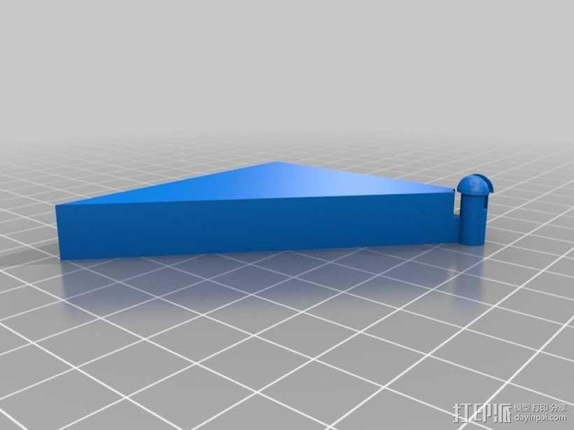 三角板 七巧板 3D模型  图3