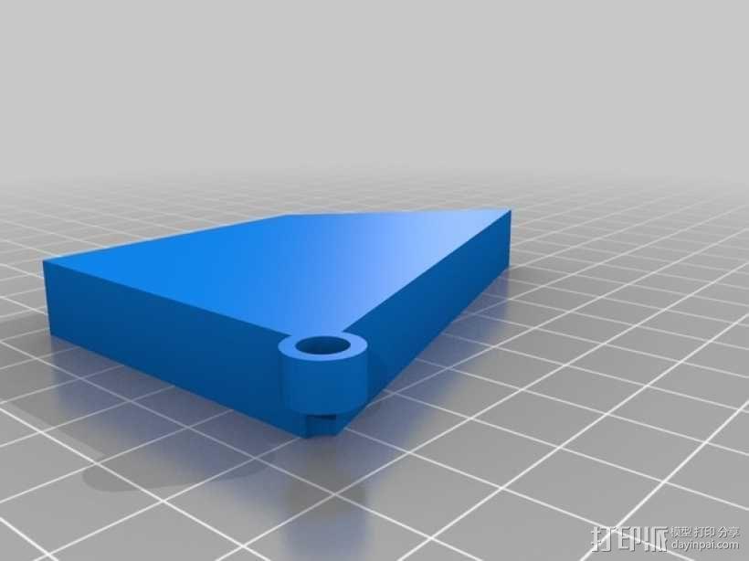三角板 七巧板 3D模型  图2