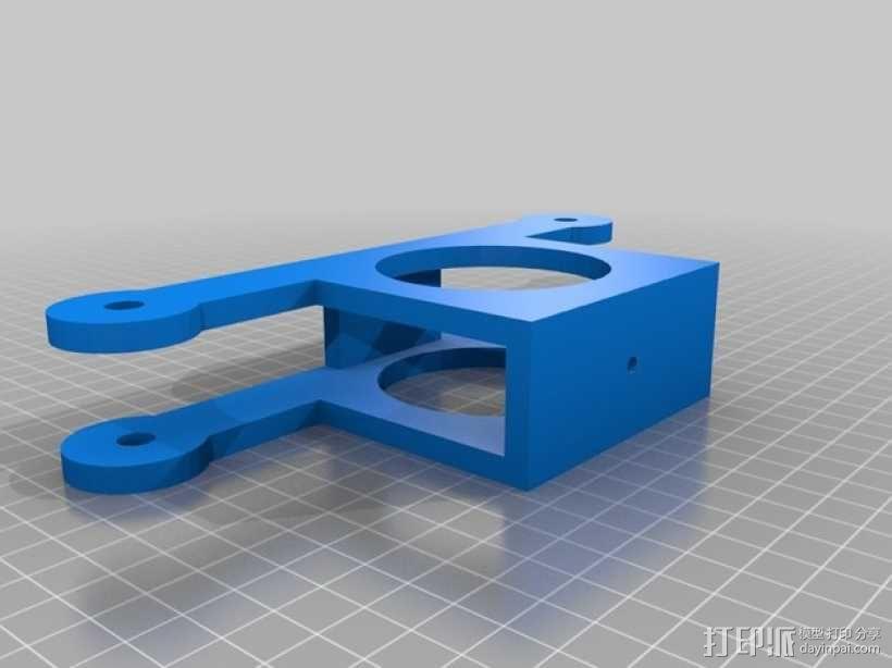 电缆凸轮 3D模型  图1