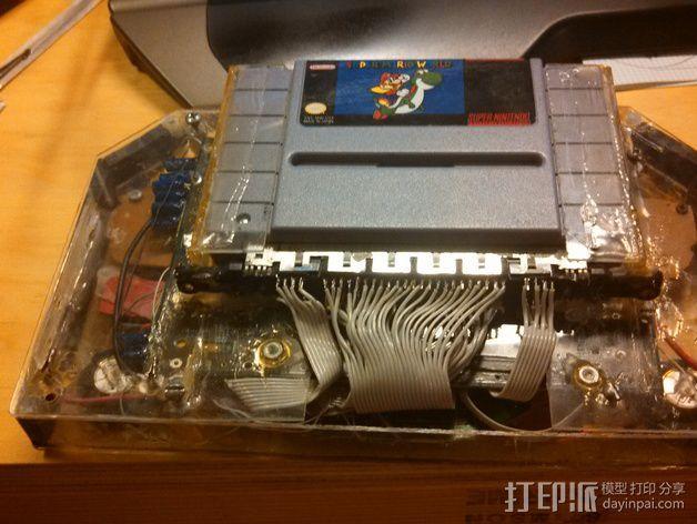 任天堂游戏机外壳 3D模型  图3