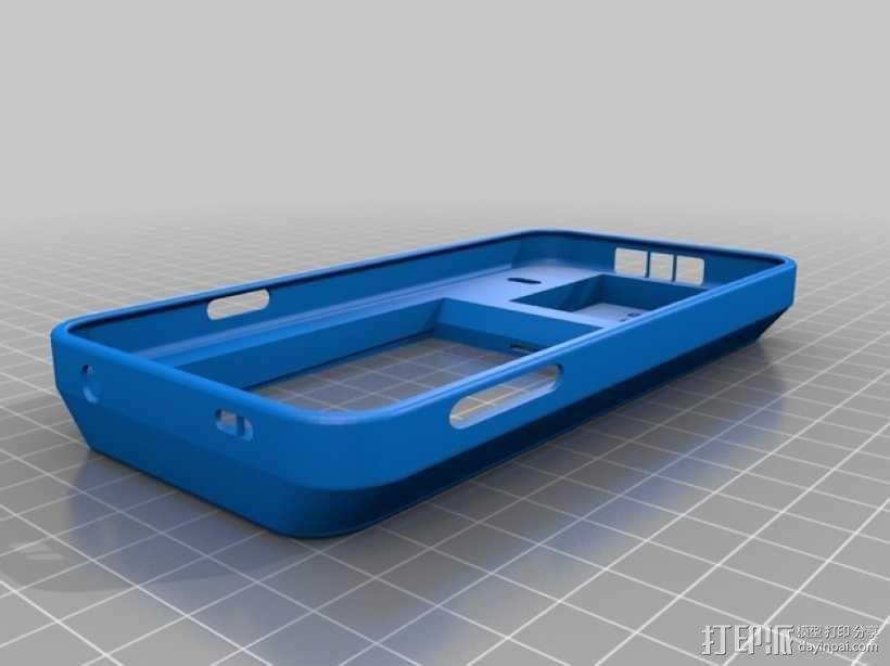 三星 Galaxy S5手机外壳 3D模型  图1
