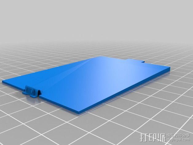 三星 Galaxy S5手机外壳 3D模型  图2
