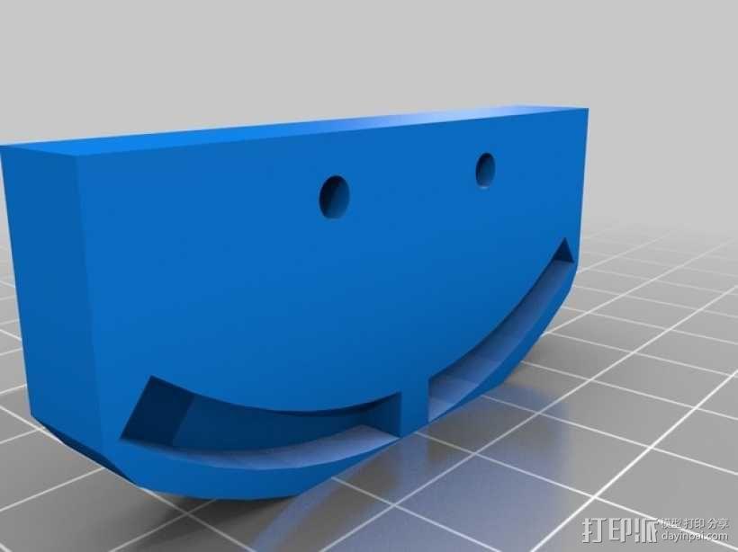 相机镜头适配器 3D模型  图3