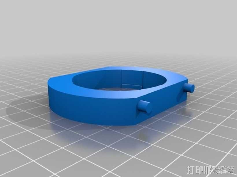 相机镜头适配器 3D模型  图5