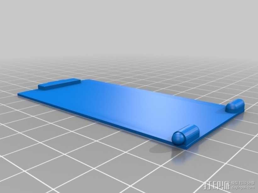 HTC One手机外壳 手机支架 3D模型  图2