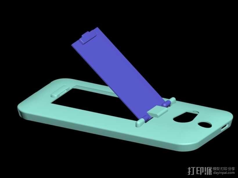 HTC One手机外壳 手机支架 3D模型  图1