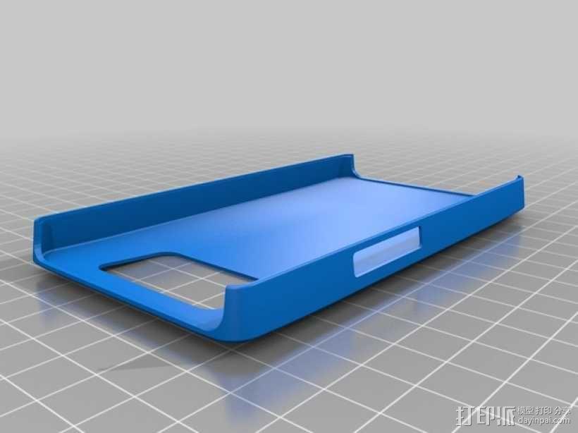 HTC HD2手机外壳 3D模型  图1