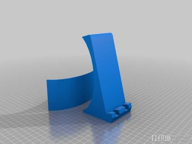 Nexus 5手机无线充电座 3D模型  图1