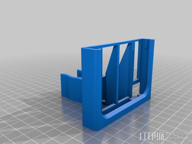 三星Note 3手机手机座 3D模型  图1