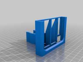 三星Note 3手机手机座 3D模型