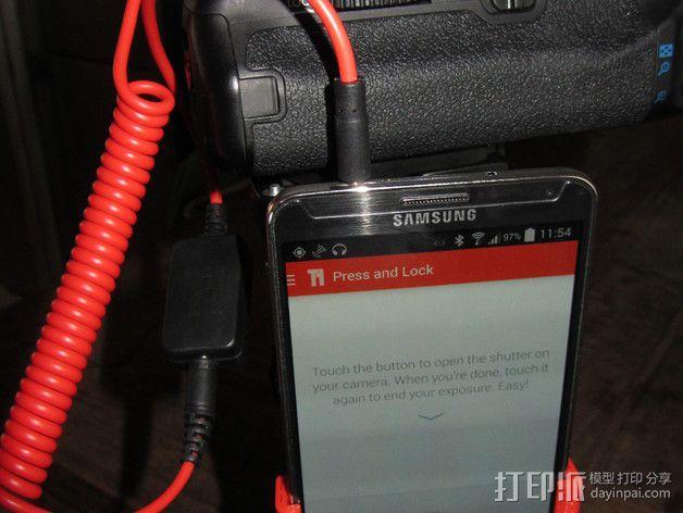 三星Note 3手机手机座 3D模型  图7