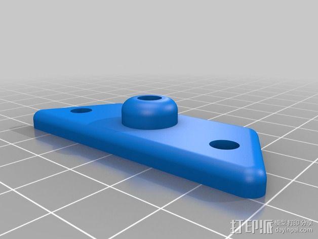 谷歌纸盒 虚拟现实眼镜 3D模型  图4