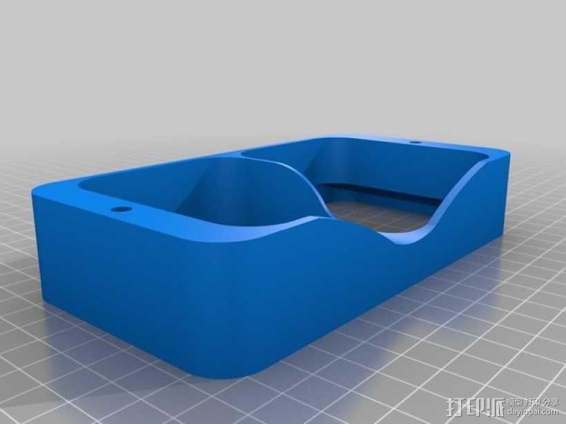 谷歌纸盒 虚拟现实眼镜 3D模型  图7