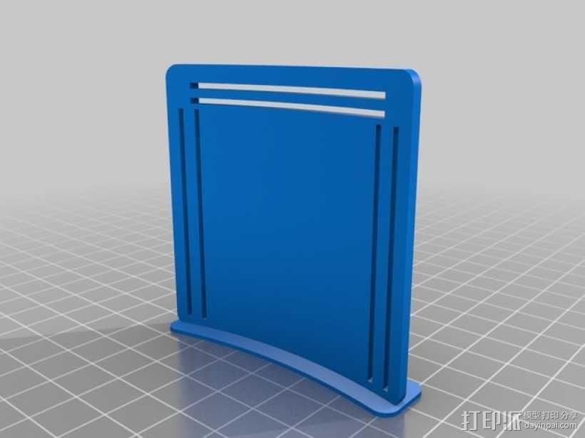 谷歌纸盒 虚拟现实眼镜 3D模型  图8