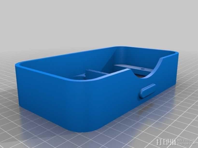 谷歌纸盒 虚拟现实眼镜 3D模型  图9