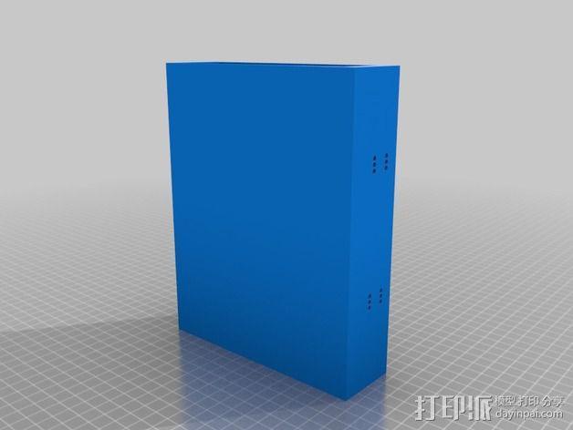 风扇罩 风扇前挡板  3D模型  图3
