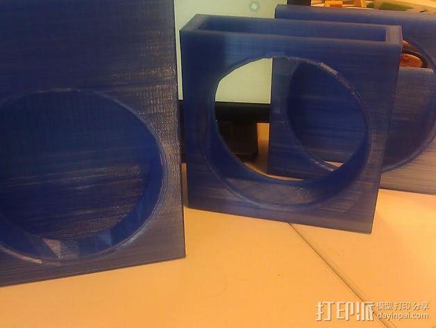 风扇罩 风扇前挡板  3D模型  图2