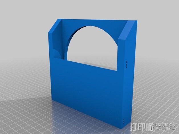 风扇罩 风扇前挡板  3D模型  图5
