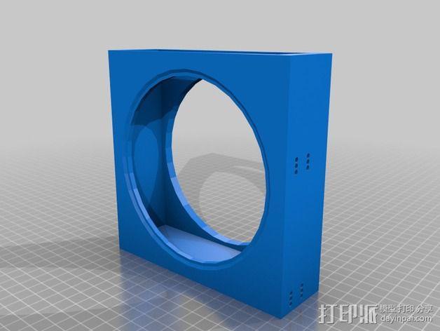 风扇罩 风扇前挡板  3D模型  图6