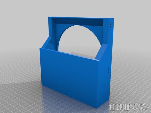 风扇罩 风扇前挡板  3D模型  图7