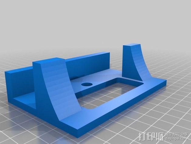 Xbox游戏主机支架 3D模型  图1