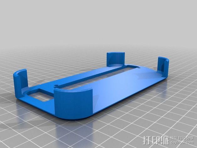 三维结构扫描仪支架 3D模型  图2