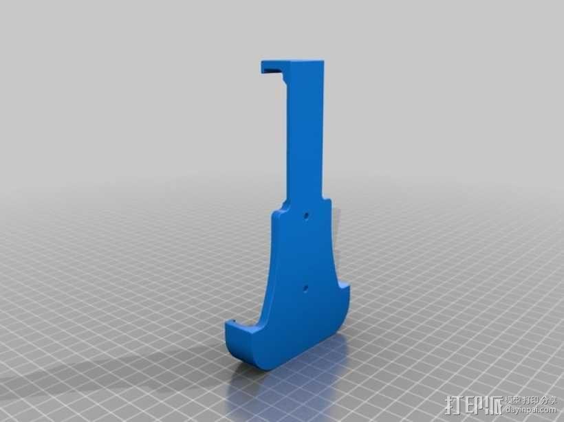 三星S4手机支架 3D模型  图2