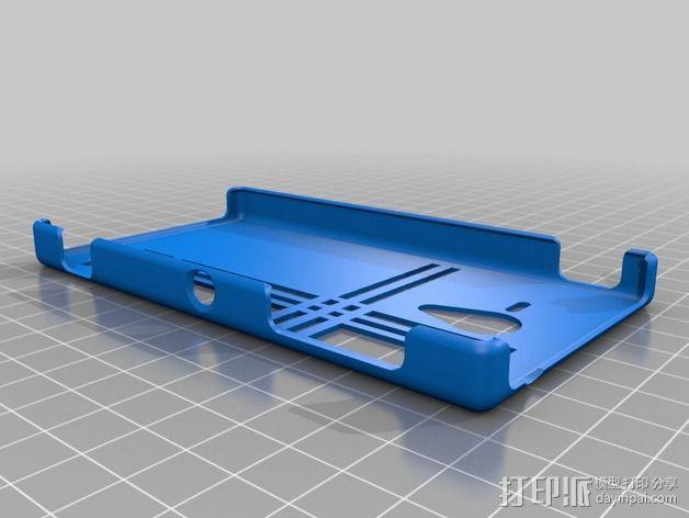 索尼Experia手机外壳 3D模型  图1