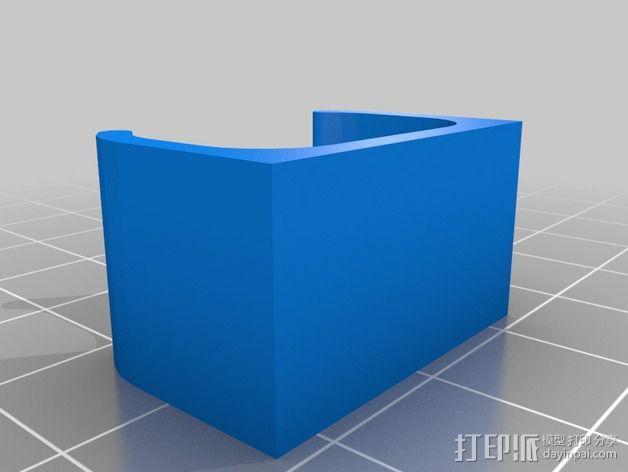 迷你面包板适配器 3D模型  图5